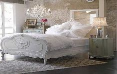 Shabby Chic Furniture For French Bedroom Style ~ http://lanewstalk.com/the-useful-tip-in-how-to-make-the-shabby-chic-furniture/