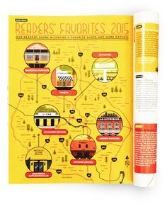 MAP + ILLUSTRATED POINTS OF INTEREST :::::: R•HOME Readers' Favorites 2015 - Justin Tran