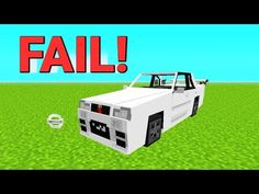 JAK ZROBIĆ SAMOCHÓD W MINECRAFT [FAIL!] - YouTube