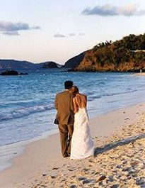 Beautiful wedding couple at the marriott frenchmans reef on st destination weddings in the us virgin islands junglespirit Image collections