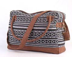 Native American Large Weekender Bag Hipster College by TaTonYon