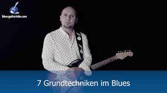 Der Blues bedient sich diverser Spieltechniken. In diesem Video konzentriere ich mich auf jene 7 Spieltechniken im Blues, die vermutlich am häufigsten zum Einsatz kommen. Es geht mir nicht primär darum, hier lupenreine und vielsagende Blues-Statements zu liefern, der Fokus liegt einzig und allein auf der Demonstration der folgenden Technik-Tools.