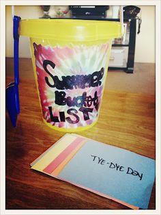 Summer 2012 Bucket List! Summer Activities! #PenniesThoughts