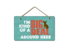 Adorable Wooden Signs for Dog Lovers on sale w/ free shipping @Coupaw
