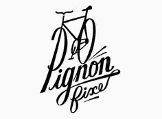 Pignon Fixe - bike logo