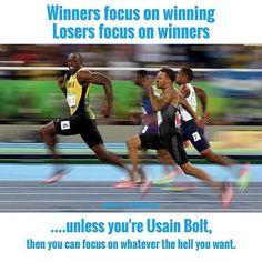 Insane Usane... Bolt Like A Boss