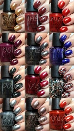 OPI Skyfall collection ♥ I need all of them!