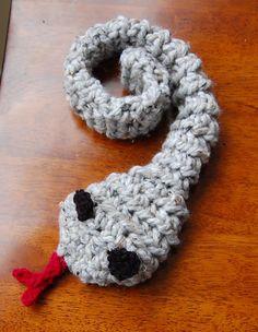 Free Crochet Snake Pattern