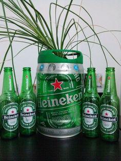 Heineken Plant Pot #gardening #plants #reuse #summer