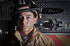 firefighter   Miguel Perez at Station 81 by bsomedic, via Flickr