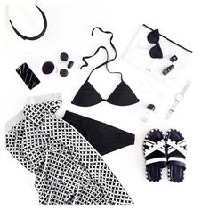 HAT // CHANEL // PHONE CASE // BATHERS // SUNNIES // SHIRTH // RINGS // BRACELET // WATCH // CLUTCH