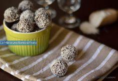 Palline+di+ricotta+cacao+e+cocco