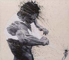 Untitled: Paolo Troilo - 2012, acrylic on canvas, cm 180x160