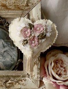 Shabby Chic Valentine41 #vintageshabbychiccrafts