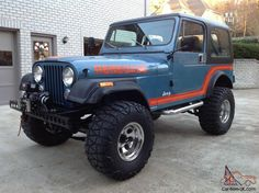 1986 Jeep CJ-7 Renegade 4x4
