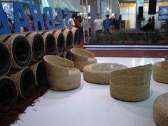 1000 ideas creativas para el reciclado de neumáticos | BricoBlog