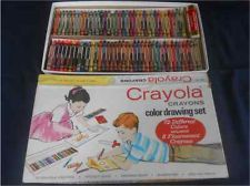 vintage Crayola crayon set