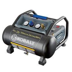 Kobalt 0200382 1.5 HP 3-gal 155 PSI Portable Electric Air Compressor