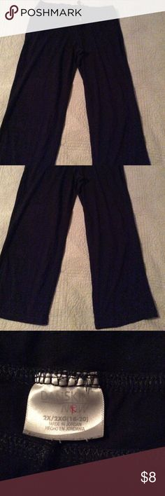 Solid black drawstring loungewear pants So comfy, you won't want to take them off! Solid black combo of cotton, polyester and spandex. Danskin Now Intimates & Sleepwear Pajamas