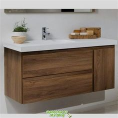 Mueble de Baño LINE COMPLET Nogal Two horizontal and one vertical pull drawer? And it floats? Vintage Laundry Room, Laundry Room Bathroom, Bathroom Interior, Bathroom Decor, Glamorous Bathroom Decor, Bathroom Furniture, Bathroom Interior Design, Bathroom Renovations, Bathroom Design