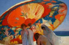 Ombres reflectides, 1920, by Lluis Masriera - detail
