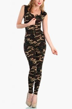 OMG Camouflage Jumpsuit