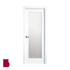 Modelo 9100AR V1/ LACADA BLANCA / Colección Lacada / Puertas de interior Sanrafael