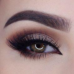 50 makeup tutorials for green eyes - amazing green eye makeup. Best Picture For Eye Makeup tips Fo Makeup Geek, Eye Makeup, Cut Crease Makeup, Fall Makeup, Makeup Tips, Makeup Tutorials, Makeup Ideas, Beauty Makeup, Makeup Trends