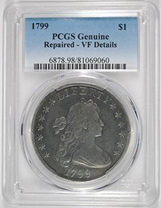 1799 Bust Dollar VF PCGS ** Want additional info? Click on the image.