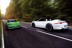 Porsche 911 Carrera 4s by TechArt Front and Rear
