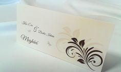egyedi grafikus esküvői meghívó 059.1 Place Cards, Place Card Holders