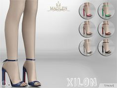 The Sims 4 by Kasia: Buty Xilon od MJ95