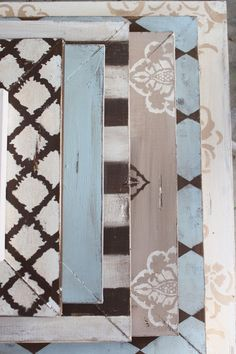 LOVE THIS!!!    Wall Grouping Set of Distressed Picture FRames by deltagirlframes, $495.00