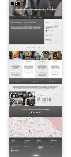 Häberli AG, Wil, Unterhaltungselektronik, Fernsehfachhandel, Radiogeschäft, Hi-Fi-Anlagen-Fachhandel, Videofachhandel