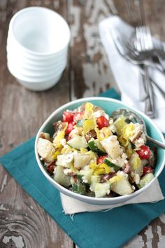 Greek Potato Salad |