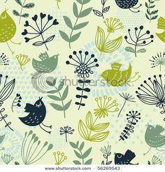 Find Summer Floral Design Pattern Stylish Wallpapers stock images in HD and millions of other royalty-free stock photos, illustrations and vectors in the Shutterstock collection. Art Pages, Beautiful Patterns, Textured Background, Green Colors, Vector Art, Pattern Design, Floral Design, Royalty Free Stock Photos, Stylish