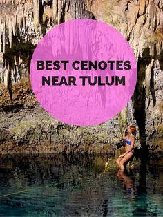 Best cenotes near Tulum & Playa del Carmen, MEXICO.: