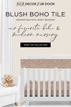Baby bedding sets by Baby Bump Bedding and Decor 2 Ur Door. Shop our brand new baby crib bedding sets for the top nursery trends.