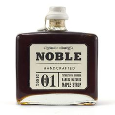 noble :: maple syrup
