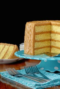 """Best Caramel Cake Recipe - """"Moist, tender, fabulous cake with a """"to die for"""" icing!"""" We'll see about that. Cupcakes, Cupcake Cakes, Cake Cookies, Carmel Cake, Caramel Icing, Caramel Filling For Cake, Butterscotch Cake, Cake Recipes, Dessert Recipes"""