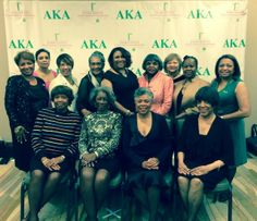 AKA Gamma Chapter Centennial! Members from the 1960s!