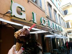 Go to Rome.  Go to Giolitti.  Order a cone w/ a scoop of chocolate and a scoop of hazelnut.  Go crazy and add some whipped cream.  Wander the beautiful streets with your treat.  Congratulations, your life is complete.
