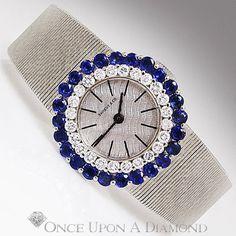 Shreve & Co 14K White Gold Diamond and by OnceUponADiamond on Etsy, $3700.00