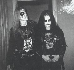 Dead and Euronymous, Mayhem. I HAD to post this one sooner or later.