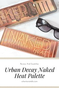 Urban Decay Naked Heat Palette Review | Considering buying the Urban Decay Naked Heat palette? Check out my post for swatches, a terracotta eye look and my thoughts on this burnt toned palette.