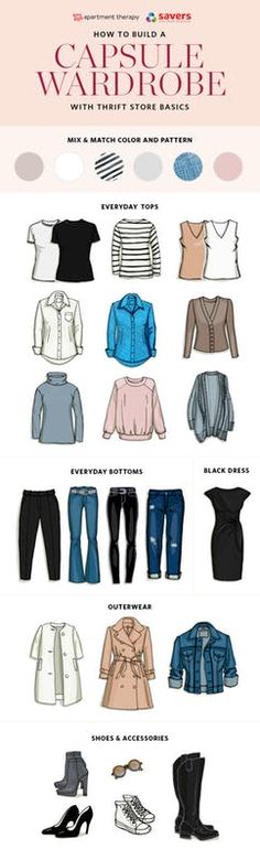 You've heard about these capsule wardrobe things and how they help us simplify. Here's how you start.