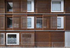 high-tech HAWA Sliding Shutters #design #architecture
