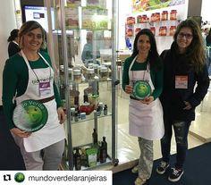 #repost Visita do @mundoverdelaranjeiras e @mundoverdeipanema ao estande do BioMercado Brasil na @feiranaturaltech !