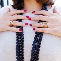 Banneya London | Honeycomb Ring. Honeycomb, Crochet Necklace, London, Bracelets, Rings, Jewelry, Fashion, Moda, Jewlery