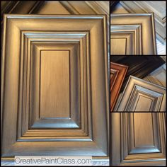 Superb Metallic Cabinet Finish Learn How To Do This On Feb 11 U0026 12, 2015 At
